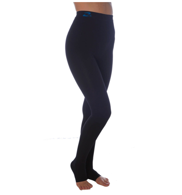 Leggings med micromassage och K2 (25-30 mmHg)